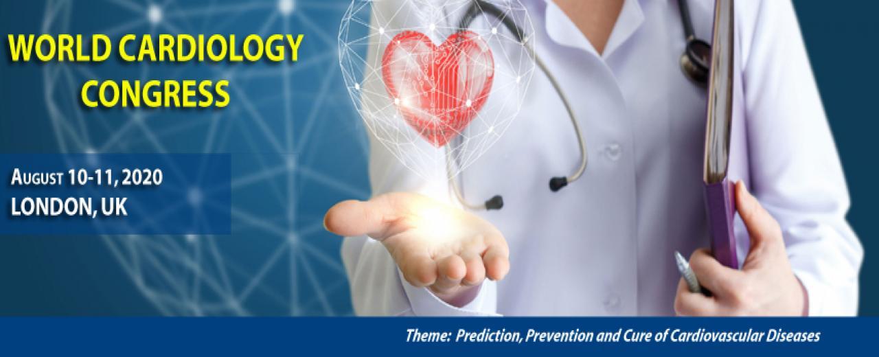 Cardiology conferences, Cardiology 2020, London, UK